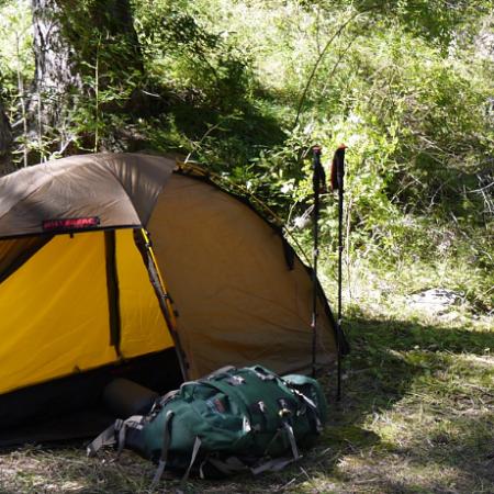 Вылазка Федора в горы с ночевками