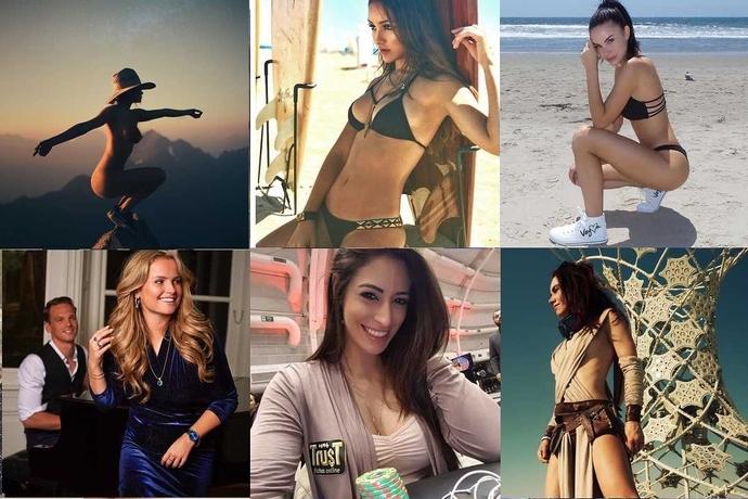 Девушки и покер: лучшие в Instagram 2017