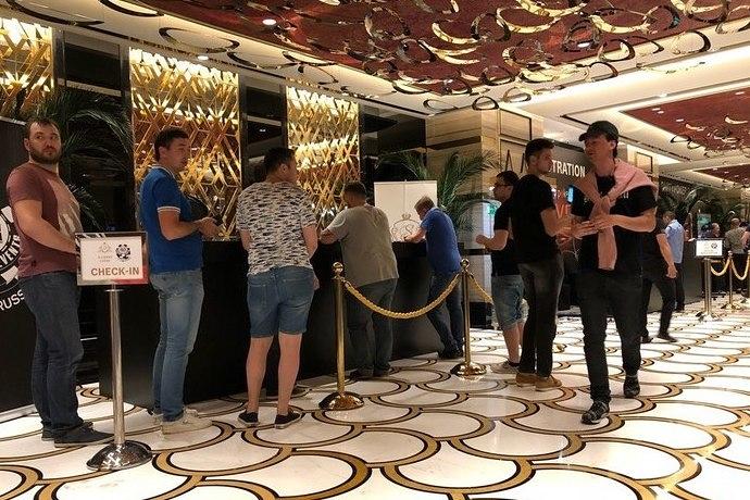 WSOP Curcuit Russia: май '18. День 2