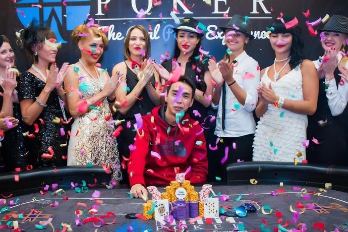 """Данияр """"Студент"""" выиграл турнир Хайроллеров Merit Poker за $10К"""