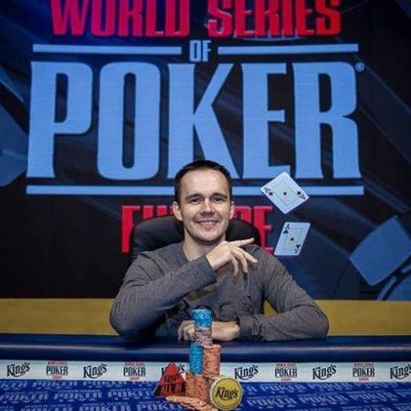 WSOP Europe: Никита Бодяковский выиграл €25,000 King's Short Deck Championship