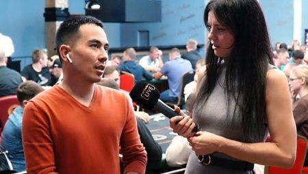 Интервью Булата на серии EAPT Алтай