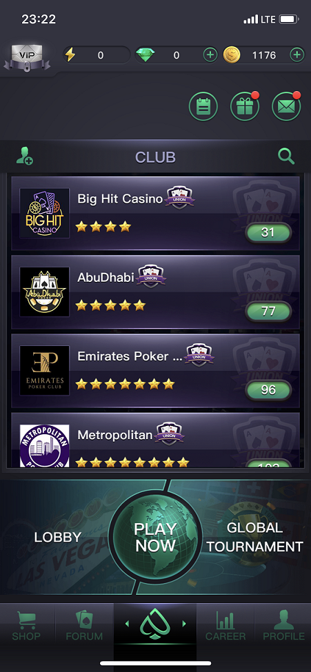 PPPoker лобби