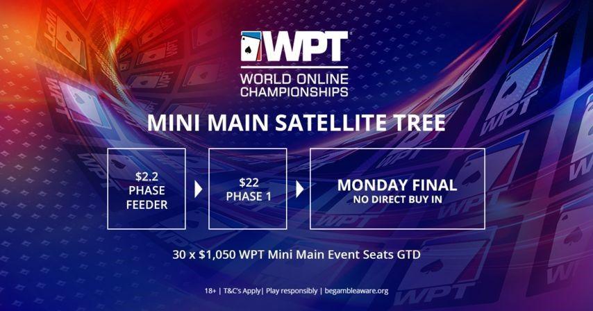 Бесплатные билеты на сателлиты в турниры WPT
