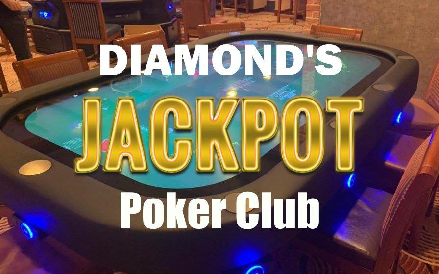 Розыгрыш и Джекпот на 500К в Diamond's Poker Club