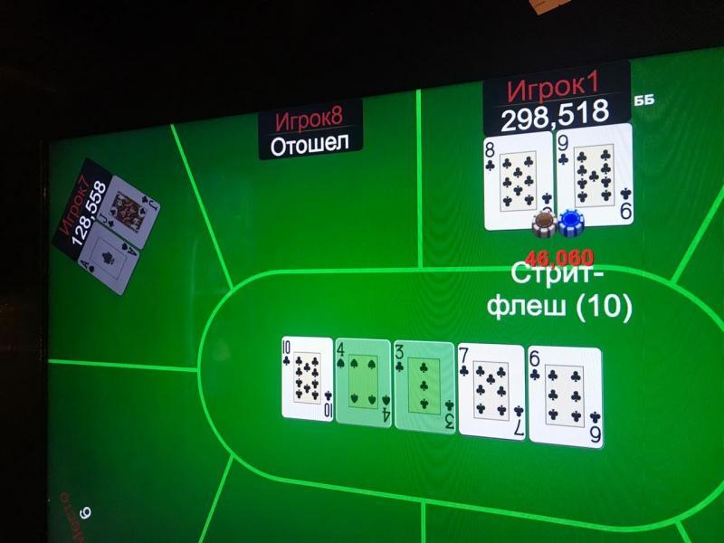 Джекпот в Diamond's Poker Club