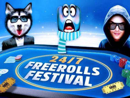 Фестиваль фрироллов на 888poker