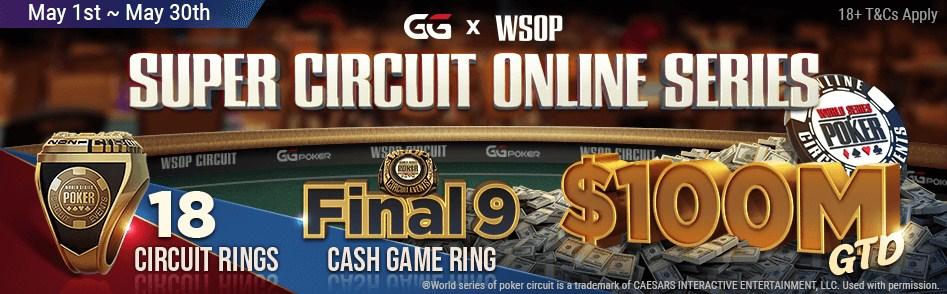 WSOP Super Circuit Online GGpoker