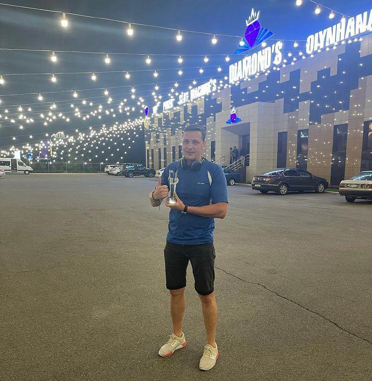 Артём выиграл Nauryz CUP 2021