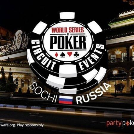 WSOP-C Russia: Сочи 19-30 мая 2018. Гарантия 240,000,000 рублей