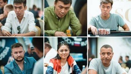 Результаты казахстанцев на WSOP Curcuit Russia